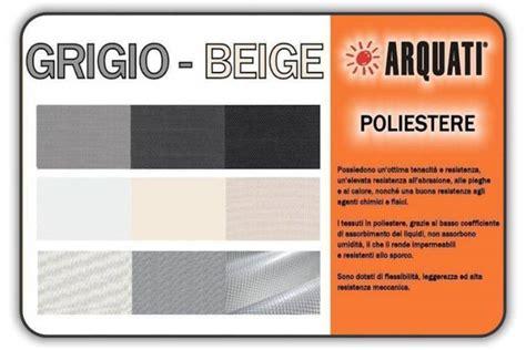 ingrosso tende torino catalogo tessuti grigio beige in poliestere arquati