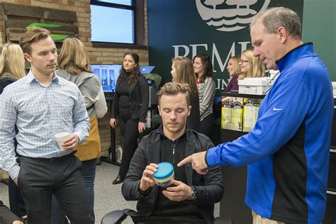 Bemidji State Mba by Bsu Marketing Students Hold Trade Show Business