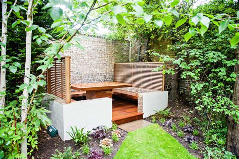 outdoor eating area banquette dining area maida vale outdoot dining and