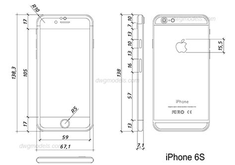 Dwg Format Iphone | iphone 6s dwg free cad blocks download