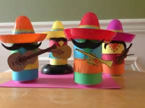 Coke can mariachi band i made for a fiesta themed party scholast book