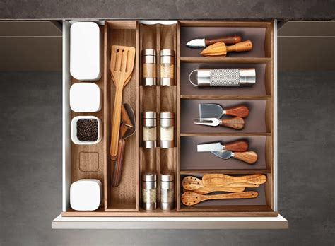 Spice Drawer Inserts by Poggenpohl Accessories Drawer With Spice Jar Bank Spice