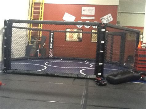 the official az defense academy new mma cage ready