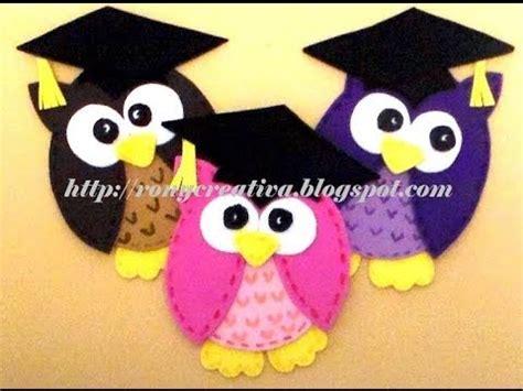 imagenes de minions graduados c 243 mo hacer unos lindos buhos graduados de foamy foamy
