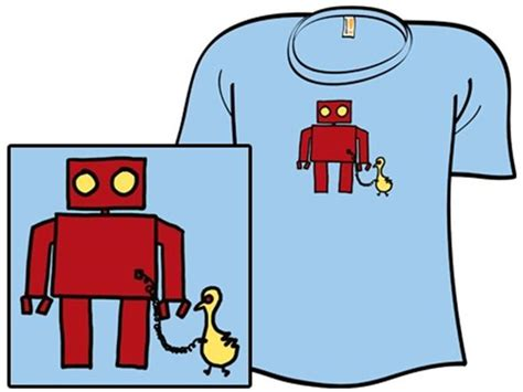Tshirt Distro Cloud 9 019 bird powered robot