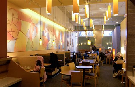 panera meeting room how panera pioneered fast casual dining eater