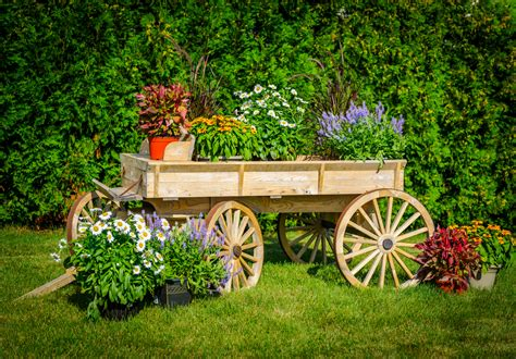 cheap rustic garden decorations
