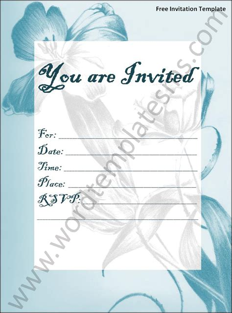 holiday party invitation with ornaments and ribbon formal