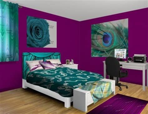 purple teal bedroom best 25 teal bed ideas on