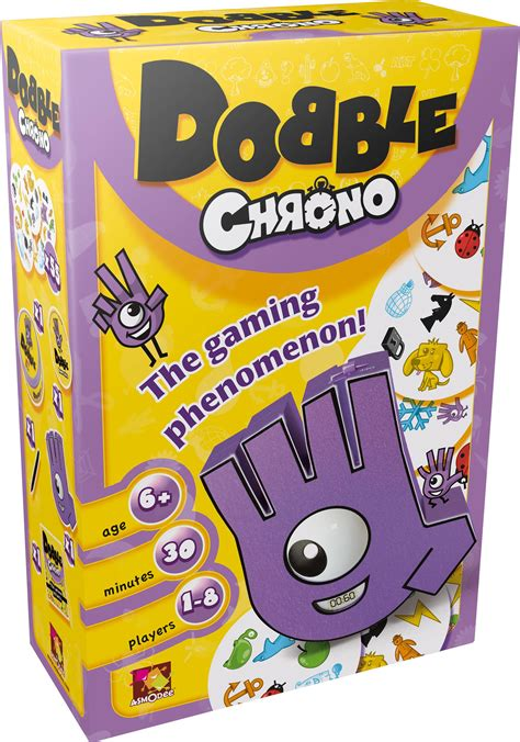 Asmodee Amazone Uk by Asmodee Editions Asmdobch01en Dobble Chrono Pack Of 1 Co Uk Toys