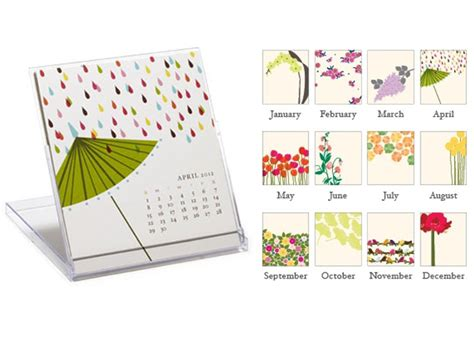 and graham desk calendar dress up your desk 2012 desk calendars