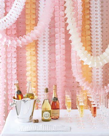 simply pretty wedding paper decorations