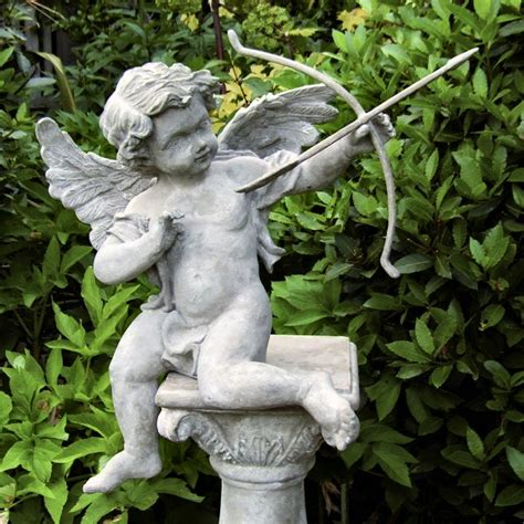 cupid garden statue cherub garden statues
