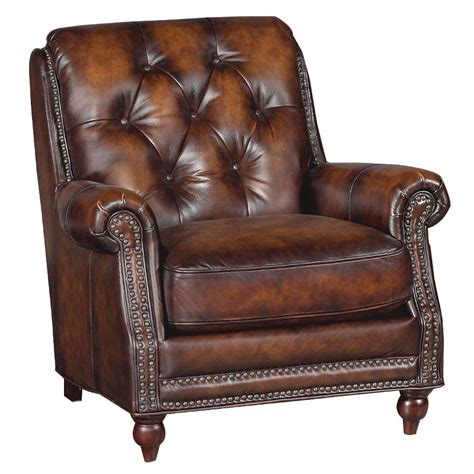 Westbury Brown 34 Quot Brown Leather Chair Brown Leather Sofa Chair
