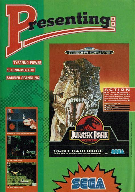 jurassic park  promotional art mobygames