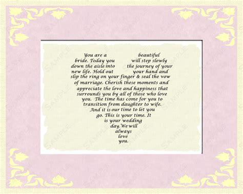 poem monogram 03 poem from mom to daughter on wedding day 03 jj s designs