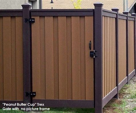 trex fencing the composite alternative to wood vinyl