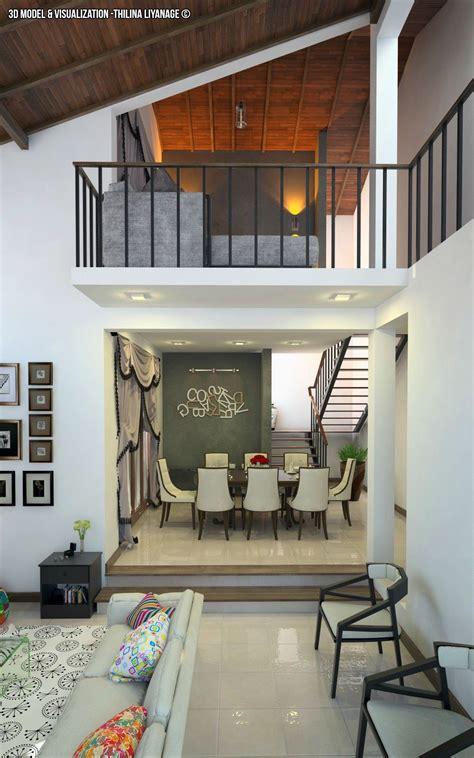 interior modern house  sri lanka  model  visuals