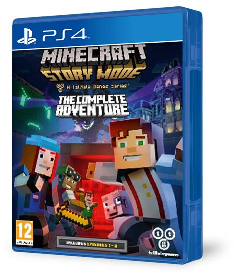 Kaset Ps4 Minecraft Story Mode The Complete Adventure minecraft story mode the complete adventure ps4 akci 243 s 225 r konzolvil 225 g