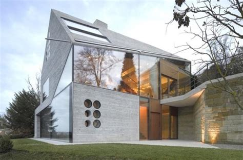 cawah homes modern green blending homes design by gayuh modern house in germany blending green design with natural