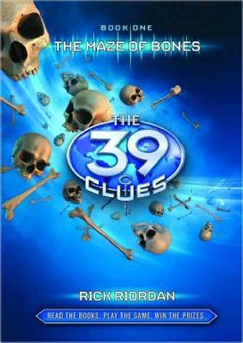 blood the rick cahill series books the maze of bones the 39 clues series 1 by rick riordan