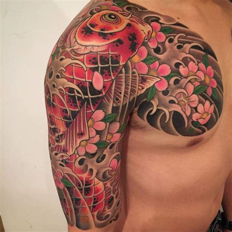 tattoo koi sakura sen irezumi inkredible ink tattoo