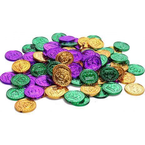Bulk Mardi Gras Coins 100 Db1002 Pgg Mardigrasoutlet