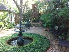 new backyards new orleans courtyard backyard for the garden