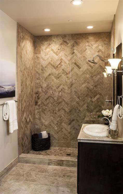 travertine tile ideas bathrooms the ultimate travertine tile shower thetileshop