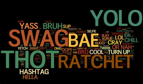 trendy teeen words now my beef is with you slang is good for language