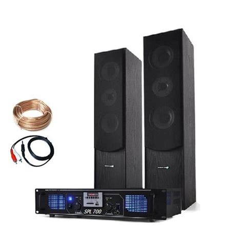 home hifi laptop cd stereo tower speakers mp3 usb sd fm