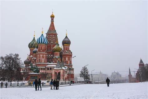 moscow russia weather moscow in winter december january february travel
