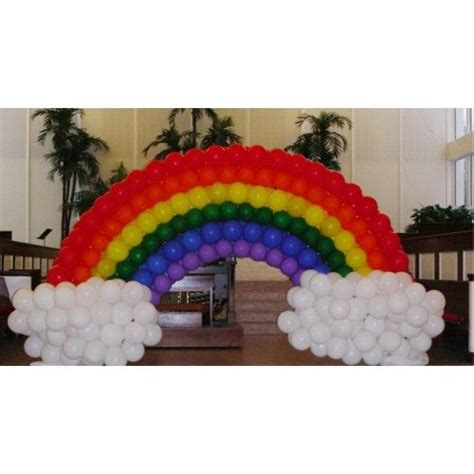 Rainbow balloon arch balloon arch pinterest rainbow balloon arch rainbow balloons and