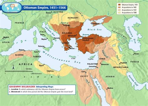 Ottoman Empire Timeline Map Ottoman Empire 1451 1566 History Ottomans Empire And Search
