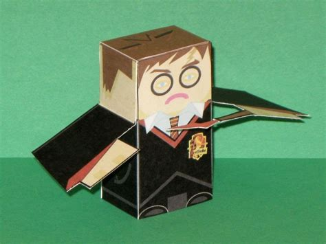 Harry Potter Papercraft - harry potter paper jpg