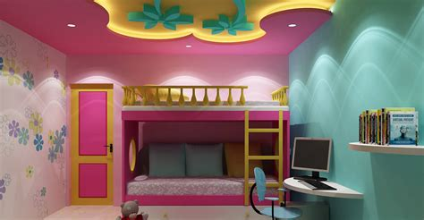 kids room interior bangalore kids room false ceiling gypsum board drywall