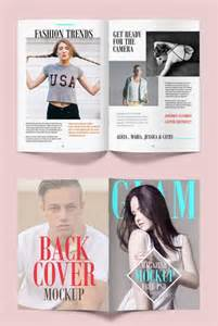 Blank Magazine Template Psd by 40 Best Free Magazine Mockup Psd Templates
