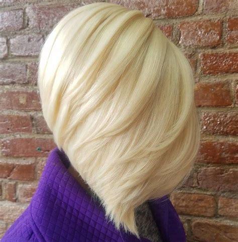 blonde bob quick weave best 25 layered angled bobs ideas on pinterest long bob