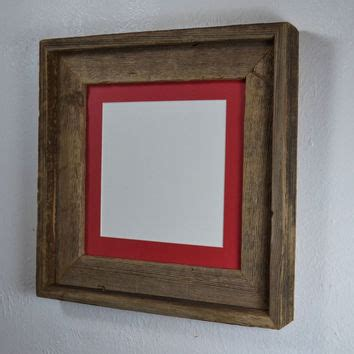 Mat Picture Frames by Picture Frame 8x8 With Mat For 6x6 Or From Barnwood4u