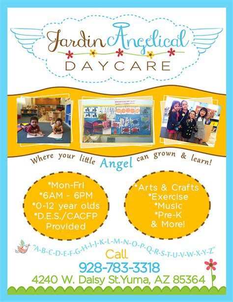 Home Daycare Flyers 23 day care flyer templates free premium
