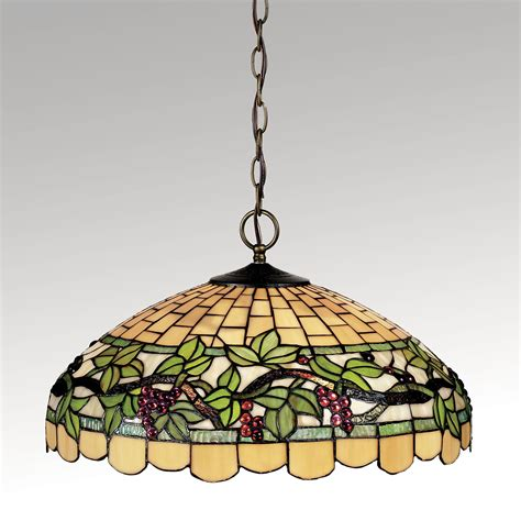stained glass hanging light grapevine breeze stained glass hanging l