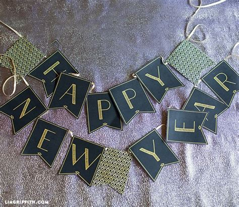 new year banner craft 5 free printables for new year s scrap booking