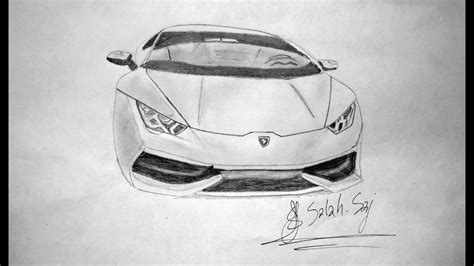 lamborghini huracan sketch the best lamborghini huracan drawing youtube