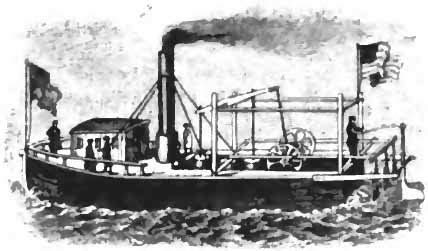 who invented steam boats papers of the war department