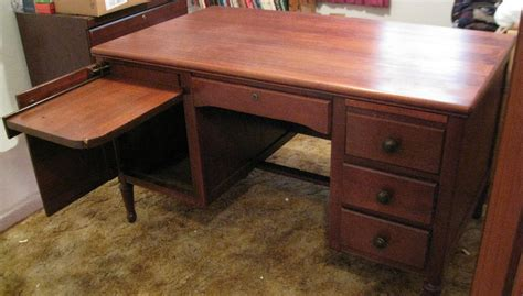 desk slide out shelf antique desk with slide out typewriter shelf