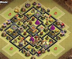 10 best coc town hall th8 farming bases with bomb tower 2016