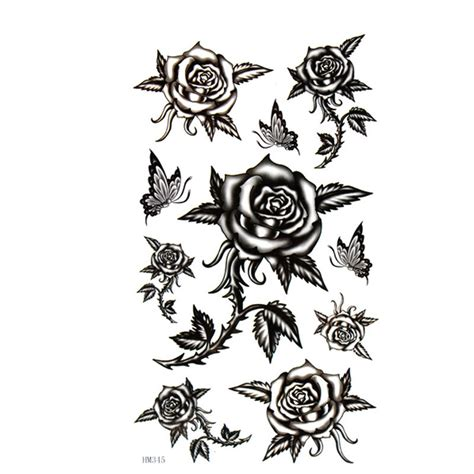 black rose tattoo gallery flames onthesideofmyface black designs ideas