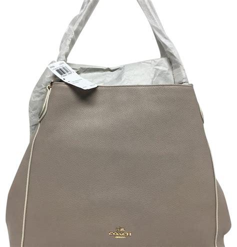 Coach Edie Bags Branded Asli Original Authentic Genuine coach leather edie colorblock shoulder bag 35926