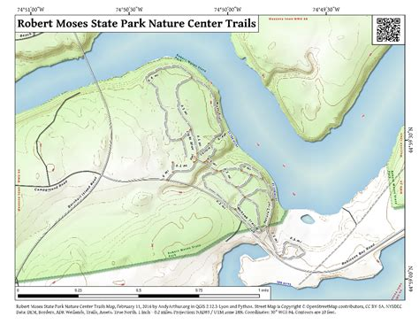 robert moses state park map map robert moses state park nature center trails andy