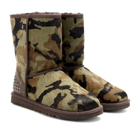 ugg camo slippers green camouflage uggs